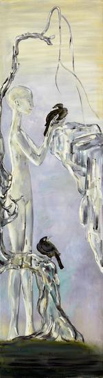 (n/a) Zhang Qianfan (b.1971) Shu Liu Ba Ge Tu 200 x 55 cm
