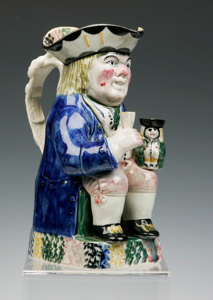 A rare Yorkshire Toby jug circa 1800
