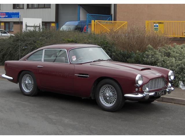 1962 Aston Martin DB4 Series IV Vantage Saloon  Chassis no. DB4/866/R Engine no. 370/1135/SS
