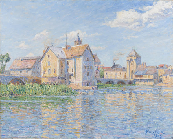 Francis Picabia (French, 1878-1953) Moret-sur-Loing