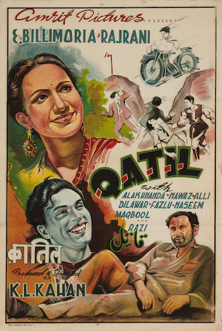 Qatil,  Amit Pictures, 1944,
