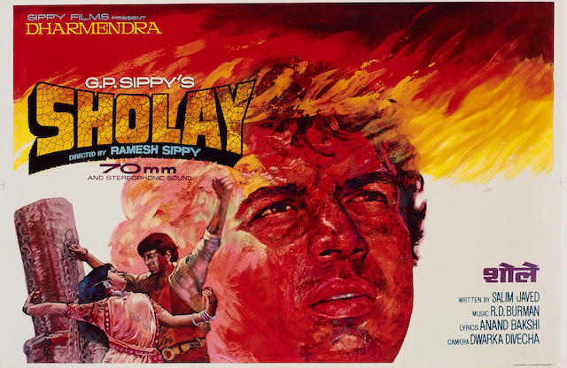 Sholay, Sippy Films Pvt. Ltd, 1975,