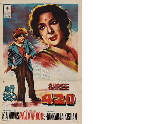 Shree 420, R.K. Films Ltd, 1955,