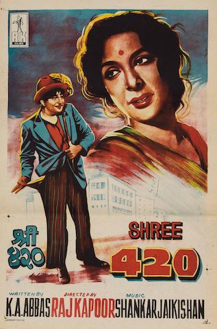 Shree 420, R.K. Films Ltd, 1955,