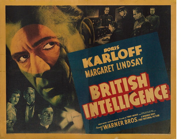 British Intelligence, Warner Bros., 1940,