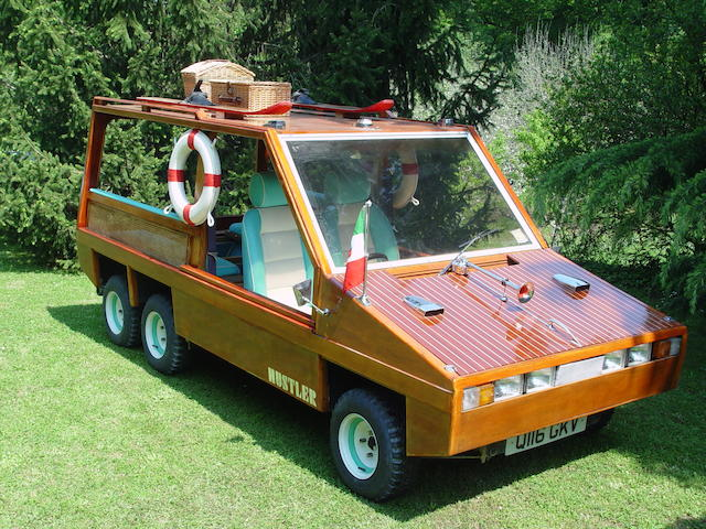 1983 Hustler Wooden  Chassis no. 382LVL08374