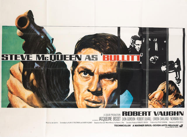 Bullitt, Warner Bros./ Seven Arts, 1968,