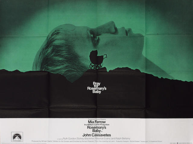 Rosemary's Baby 1968 UK Quad