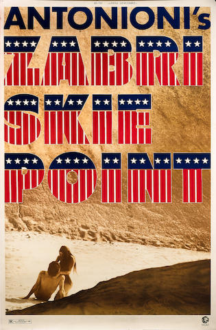 Zabriskie Point, Metro-Goldwyn-Mayer, 1970,