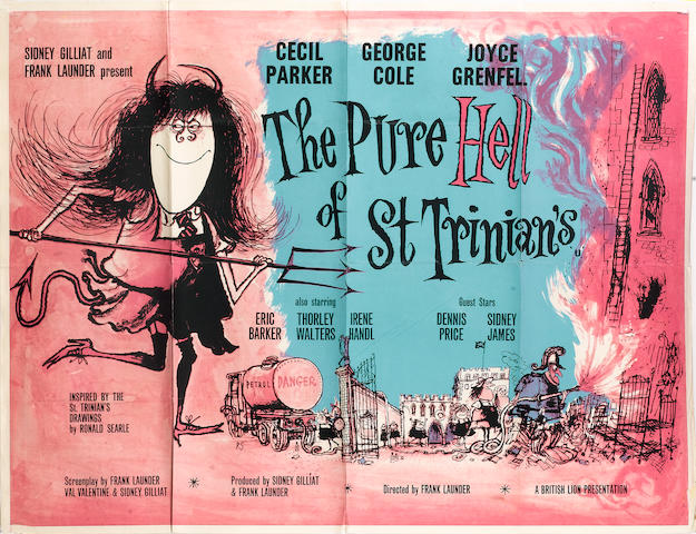 The Pure Hell of St. Trinians,  British Lion Film Corporation, 1960,