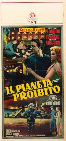 Forbidden Planet, Metro-Goldwyn-Mayer, 1956,