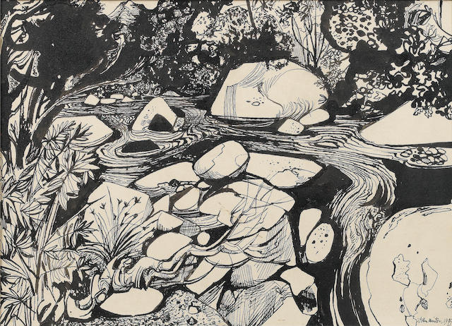 John Minton, River ***For London Sale