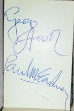 Autographs of the Beatles, circa 1963/4,
