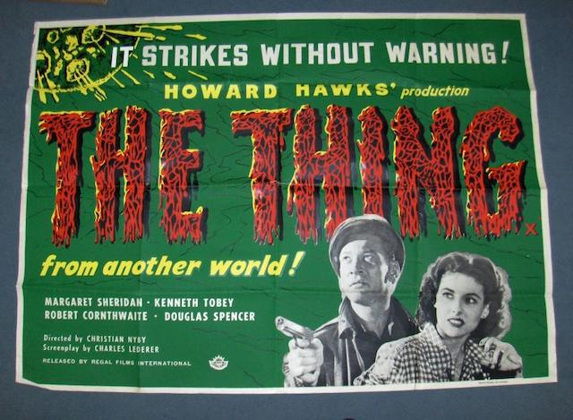 The Thing from Another World ,  RKO Radio Pictures, 1951,