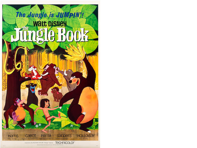 The Jungle Book,  Walt Disney Pictures, 1967,
