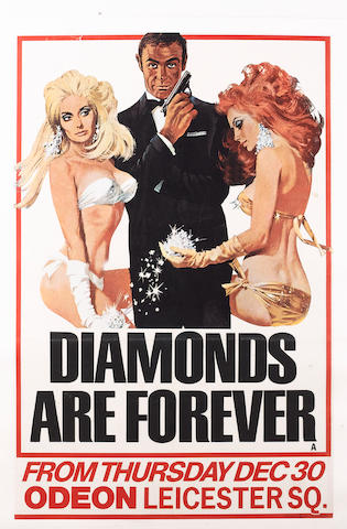 Diamonds Are Forever, United Artists, 1971,