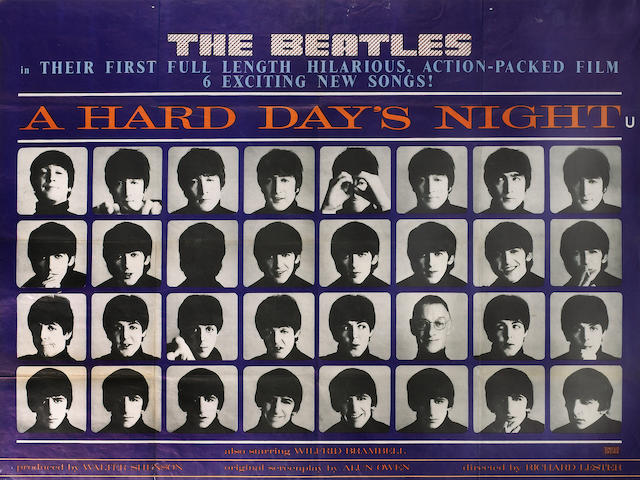 A Hard Days Night, United Artists, 1964,