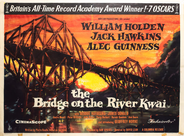 The Bridge on the River Kwai, Columbia Pictures Corperation, 1957,