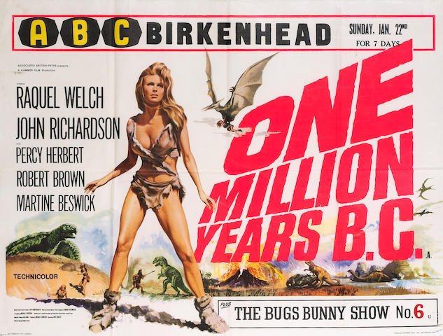 One Million Years BC, Associated British Pathé Ltd, 1966,