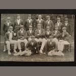 Australian 1921 Signed team postcard