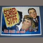 A collection of eighteen 1940's UK Quad Film Noir and Thriller posters, comprising;