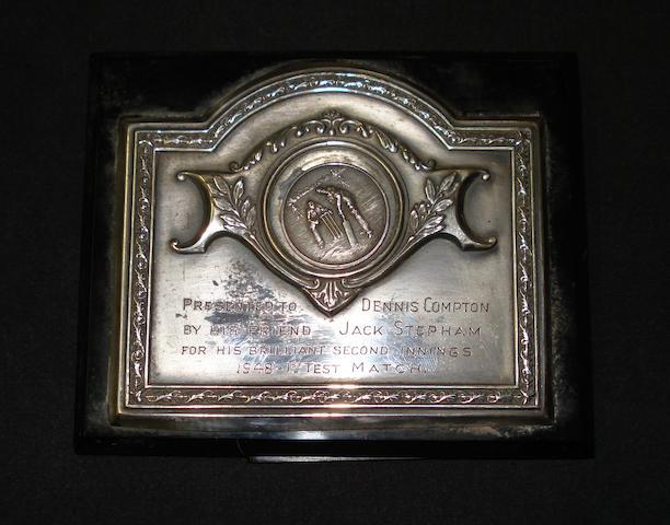Australia 1948 – presentation plaque