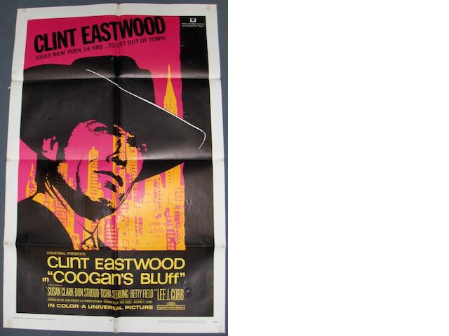 A collection of Clint Eastwood related UK Quad, Insert and US One Sheet posters, 1968 - 1984, including: