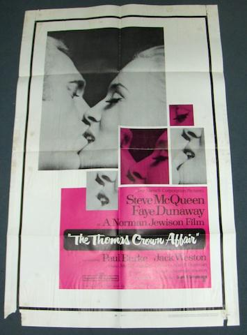 A collection of Steve McQueen related film posters, 1963 - 1980, including: