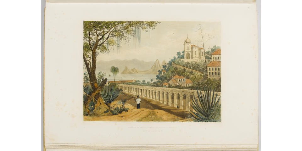 OUSELEY (WILLIAM) Views in South America from original drawings made in Brazil, The River Plate, The Parana &c