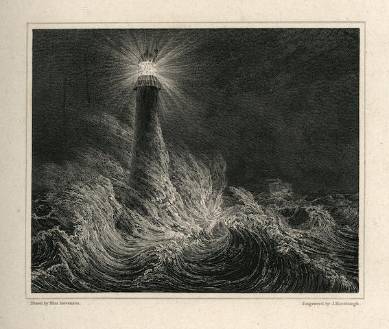 STEVENSON (ROBERT) An Account of the Bell Rock Lighthouse, Including the Details of the Erection and Peculiar Structure of that Edifice, FIRST EDITION, AUTHOR'S PRESENTATION COPY TO HIS DAUGHTER