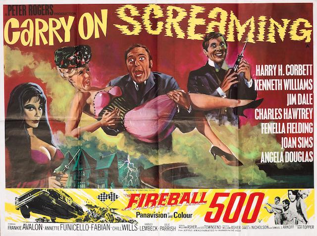 Carry On Screaming, Anglo-Amalgamated Film Distributors Ltd, 1966,