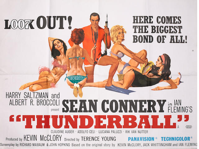 Thunderball, United Artists, 1965,