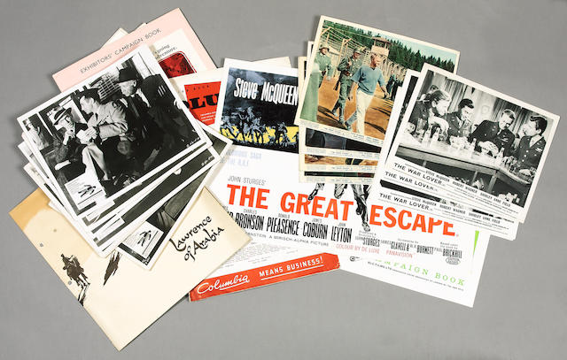 A collection of cult and iconic cinema related campaign books, all titles from 1950's and 1960's, in