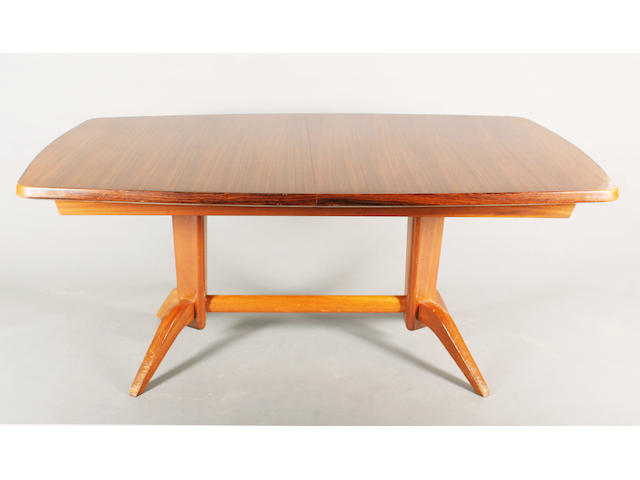 A Gordon Russell dining table, designed by W.H. Russell, circa 1950
