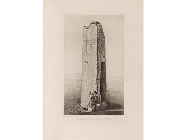 DIEULAFOY (MARCEL AUGUSTE) L'art antique de la Perse. Achéménides, Parthes, Sassandides, 5 vol.