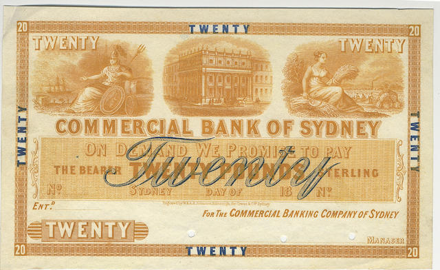 Commercial Bank of Sydney,