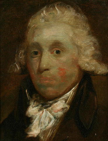 Attributed to Gainsborough Dupont (British, 1754-1797) Portrait of a gentleman,