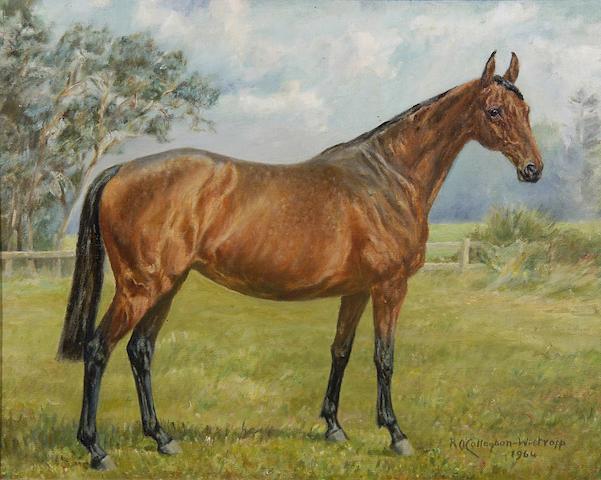 A. O'Callaghan-Westropp (British, 20th Century) Follette 1956