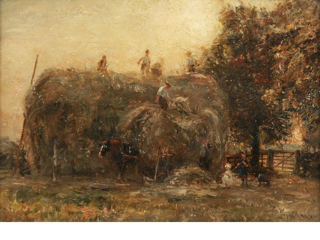 1 Oil - H Royle - Haymaking