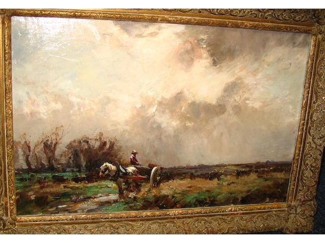 William Bradley Lamond, RBA (British, 1857-1924) The cart