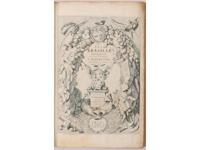 BARLAEUS (CASPER) Rerum per octennium in Brasilia et alibi nuper gestarum