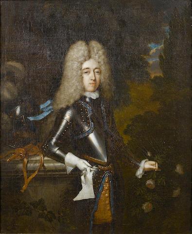 Constantyn Netscher (The Hague 1668-1723) Portrait of William North, 48.5 x 40 cm. (19 x 15¾ in.)(2)