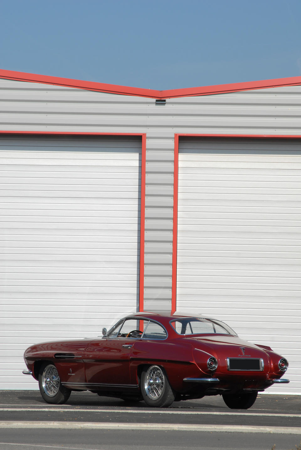 One of only three,1952 Jaguar 'Supersonic' Coupé