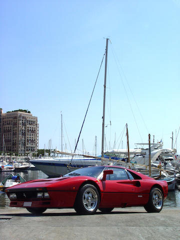 Previously the property of Michele Alboretto,1985 Ferrari 288GTO Berlinetta ZFFPA1B000056195