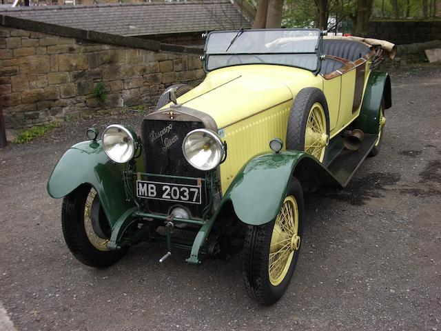 1923 Hispano-Suiza H6B 37.2hp 6.6 litre Dual Cowl Tourer  Chassis no. 10525 Engine no. 300571