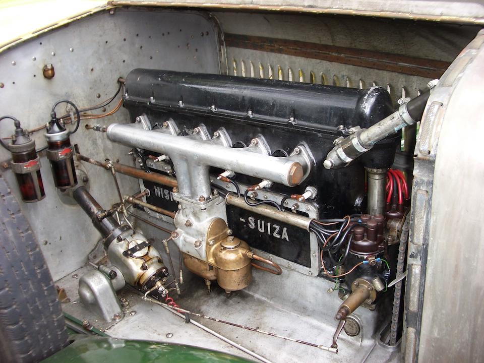 1923 Hispano-Suiza H6B 37.2hp 6.6 litre Dual Cowl Tourer  Chassis no. 10525 Engine no. 300571