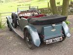 1930 Bentley 4 1/2 Litre Tourer,