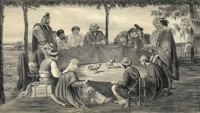 PALLIERE (JEAN LÉON) Album Palliere escenas Americanas reduccion de cuadros, aquarelles y bosquejos