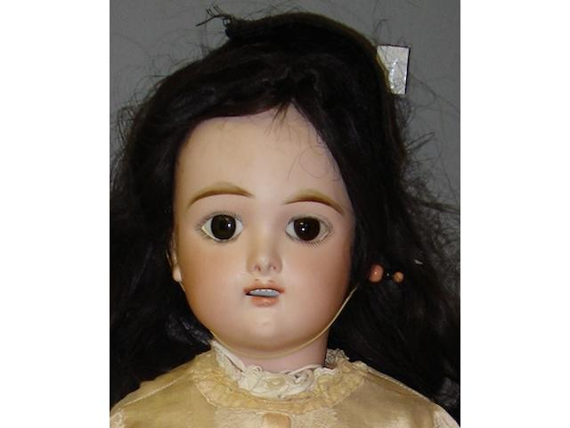 Eden Bebe bisque head doll, circa 1895