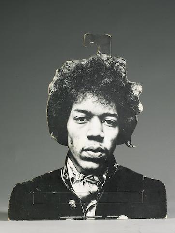 A Jimi Hendrix coat hanger, 1967,